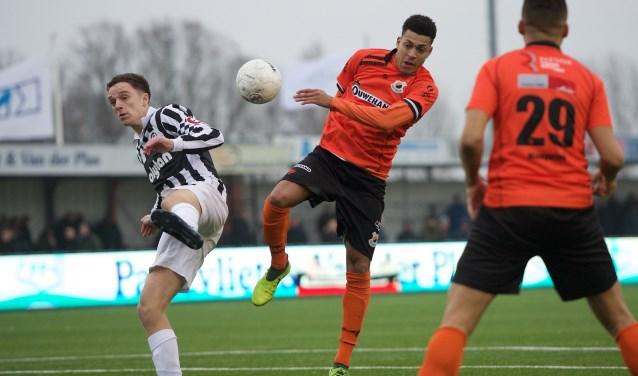 Damianoi Schet tekende voor het eerste doelpunt. | Foto: OrangePictures