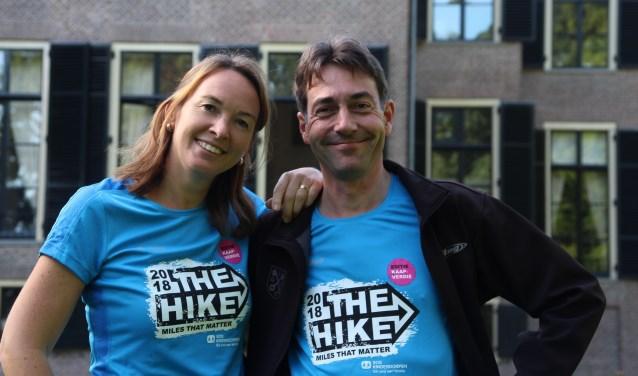 Johan Stakenburg en Annette Timmermans uit Oegstgeest gaan 24 uur hiken op Kaapverdië.