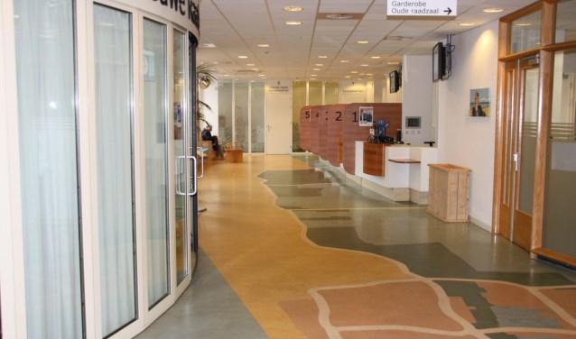 Straks na de verkiezingen en de fusie wordt ook het Noordwijkse gemeentehuis ingericht op 'het nieuwe werken'.