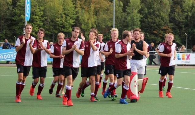 Leiden groeide in de wedstrijd. | Foto Ed Patijn