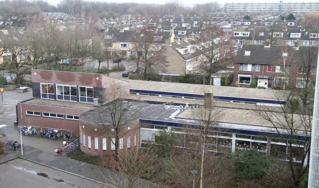 De Rembrandtschool op een archieffoto.