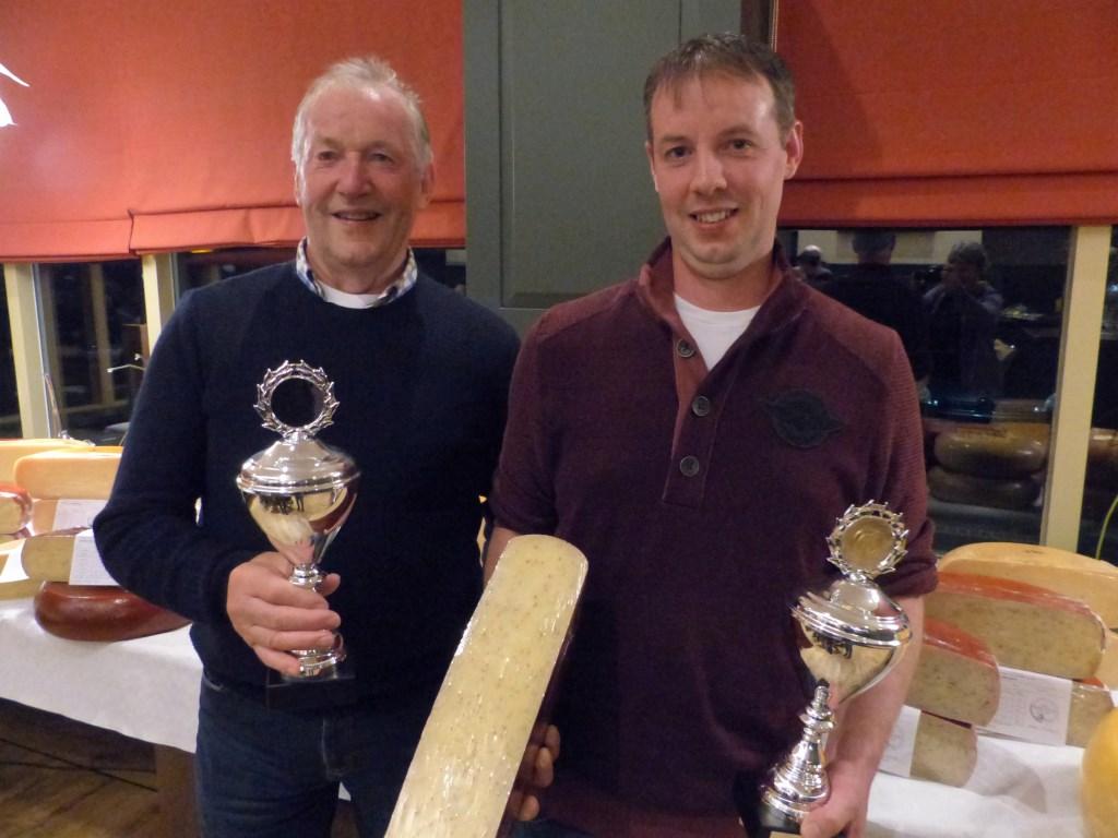 Kaasboerderij Kwakernaak won beide categorieen voor BoerenLeidse kaas met Sleutels. Foto: PR © uitgeverij Verhagen