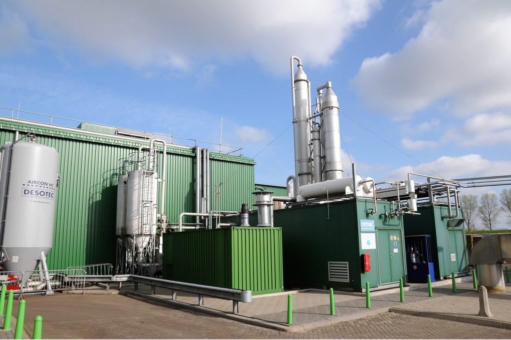 De 'groene energiefabriek' bij Meerlanden. Foto: pr © uitgeverij Verhagen