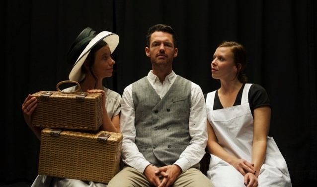 Een scene uit de voorstelling. Foto: Richtje Nijhof