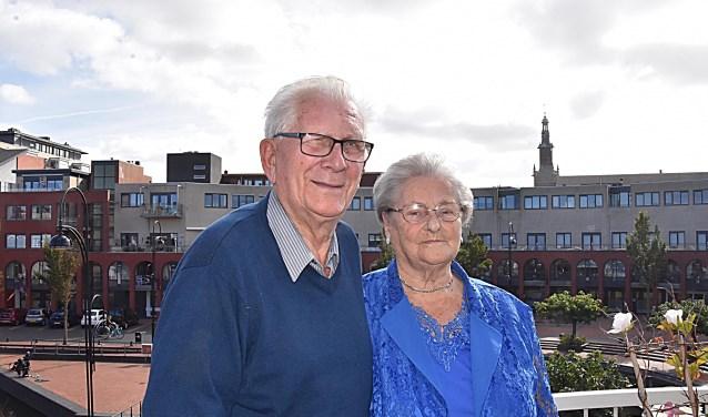 Dirk en Mien van Duijvenvoorde vierden hun 60-jarig huwelijksfeest.