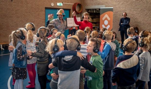 Leerlingen doen zelf mee in het verhaal van Lieve Lieven. | Foto: pr./Arjan van der Zwart