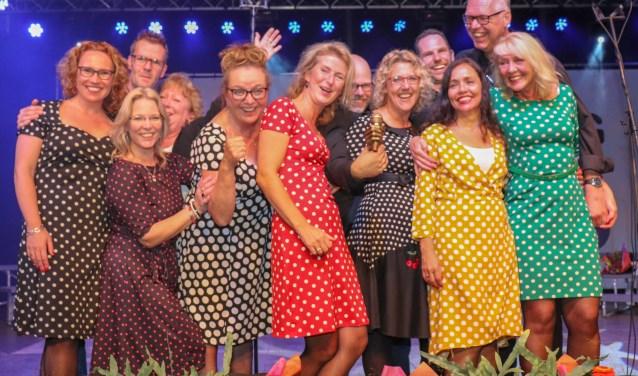 De winnaars van Korenslag 2018: Koorbizniz uit Haarlem. | Foto: pr