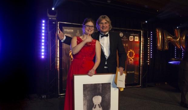 Kinderarts Michel Weijerman was zeer vereerd met zijn award.