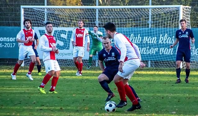 RCL in de aanval. | Foto: J.P. Kranenburg