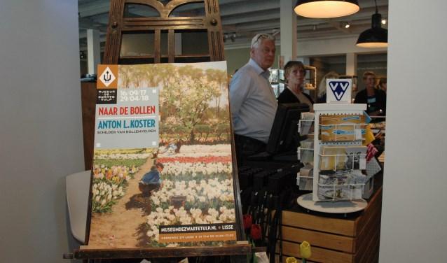 De tentoonstelling met werk van Anton Koster trok een veel bezoekers richting De Zwarte Tulp.