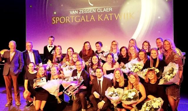 De winnaars van het sportjaar 2017.