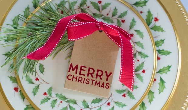 Een feestelijke kerstlunch bij 't KrantCafé in 't Poelhuys.
