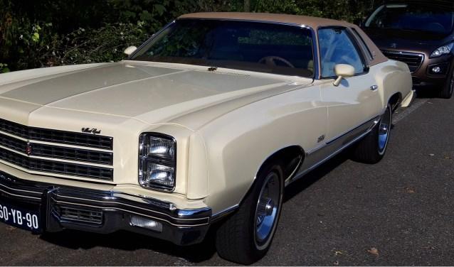 Chevrolet Monte Carlo. Foto en tekst Rien van Vliet