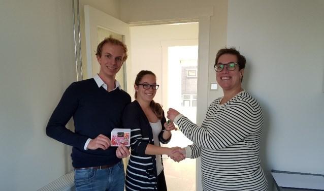Tim en Mandy kregen 31 oktober kregen de sleutel uitgereikt.