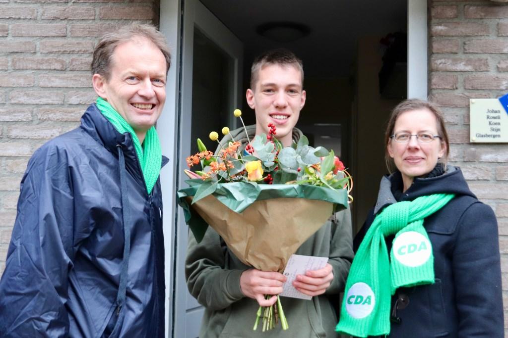 V.l.n.r. Jan Huisman, Koen Glasbergen en Medea Hempen. Foto: PR © uitgeverij Verhagen
