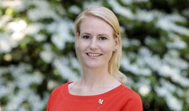 Wethouder Jeanet van der Laan was zelf jarenlang actief in het onderwijs. Ze was onder meer docent en teamleider op het Fioretti College in Lisse.