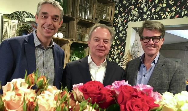 Mark Breugem, Lars Flinkerbusch en Willem Heemskerk.