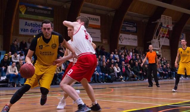 Bas Rozendaal ving met 32 punten tegen Groningen het ontbreken van Kasper Averink goed op. | Foto: Geert Bekker