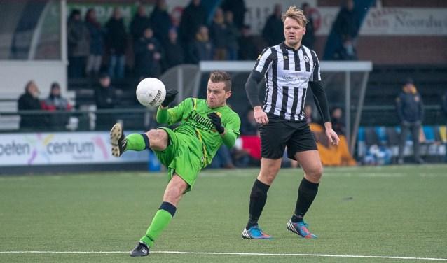 Vincent Solleveld haalt de aanval eruit tegen zijn oude club. | Foto lichtenbeldfoto.nl