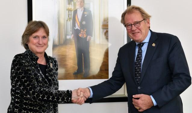 Jon Hermans is door commissaris Jaap Smit benoemd als waarnemend burgemeester. | Foto: pr.