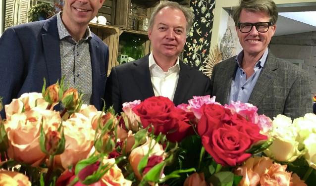 Vanaf links: Mark Breugem, Lars Flinkerbusch en Willem Heemskerk.| Foto: pr