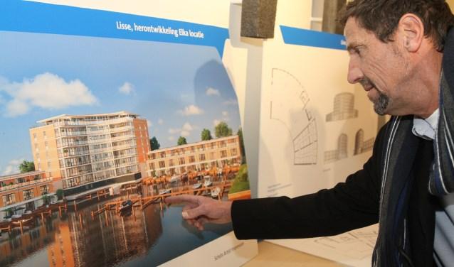 Tijdens de informatieavond vorig jaar kwamen veel omwonenden en potentiële kopers een kijkje nemen naar de bouwplannen.