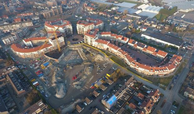 Nieuwbouwwijk De Bloem in aanbouw – maart 2018
