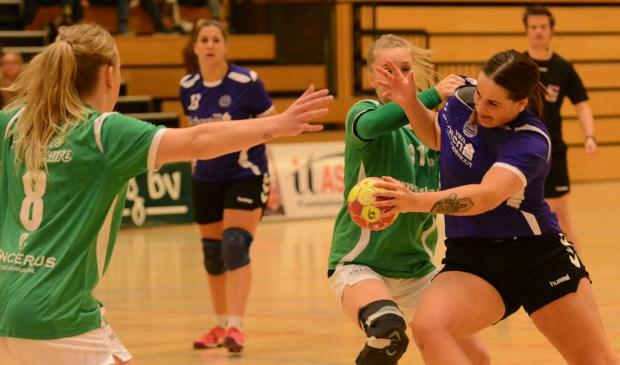 Marisha van der Geest is topscoorder met zeven doelpunten. | Foto: archief