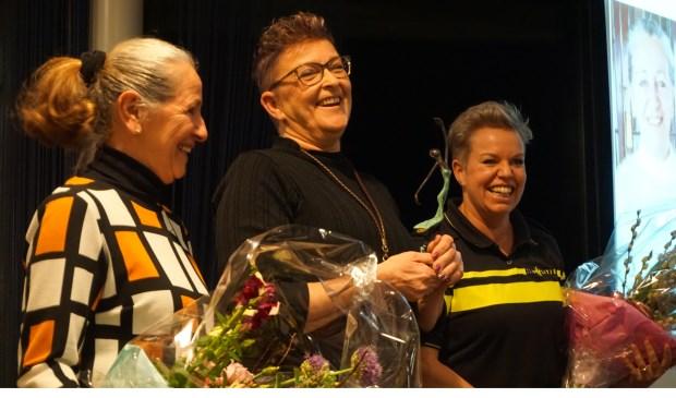 Anke Minnee–de Koning, Tineke Zuijderduijn en Tanja Wassenaar.