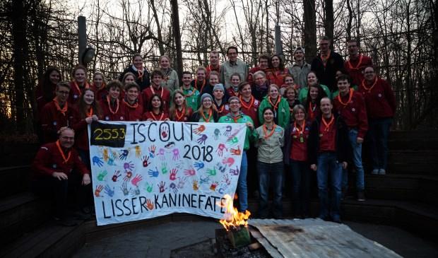 De deelnemers aan de iScout hadden een geslaagde zaterdagavond.