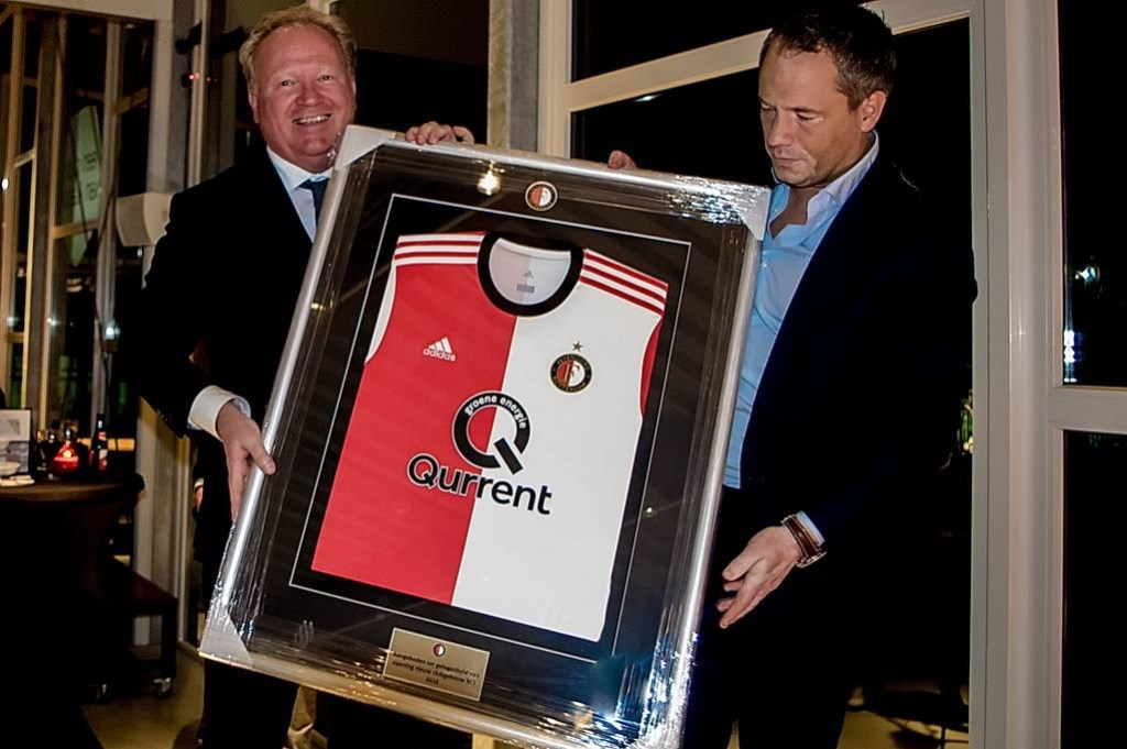 Feyenoord schonk een shirt. Foto: Johan Kranenburg © uitgeverij Verhagen