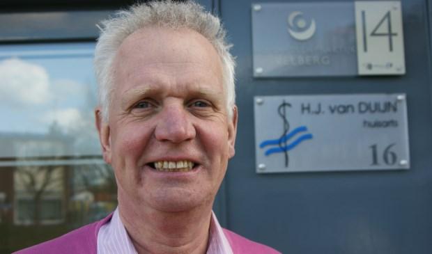 Huisarts Huug van Duijn uit Katwijk is de initiator van het symposium.