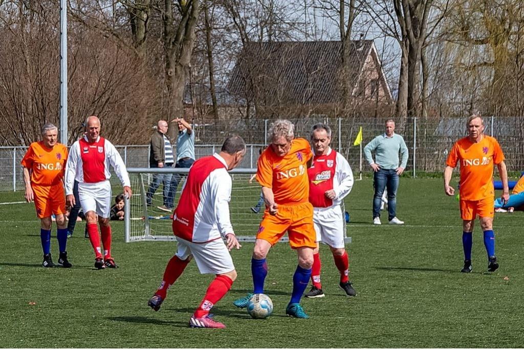 OldStars in actie.  Foto: Johan Kranenburg © uitgeverij Verhagen