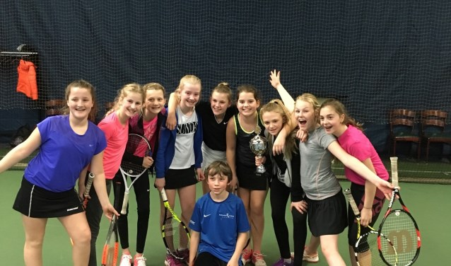 Het winnende team van groep 7/8: De Prinsenhof. | Foto: pr