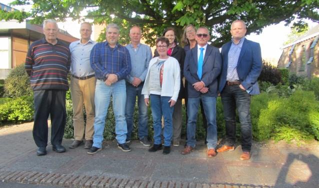Leden van Wijkraad Rijnsburg.