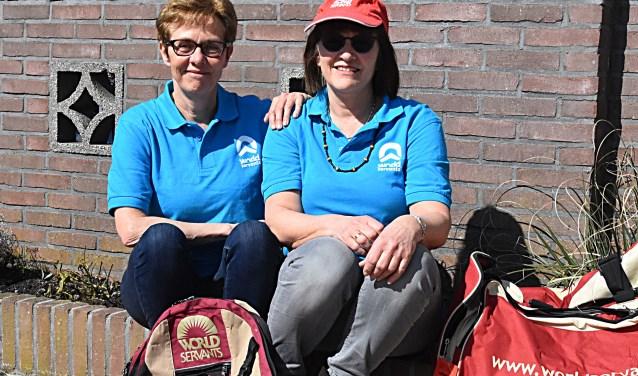 Dames naar Ghana: José Korts en Lia van Rijn zijn er bijna klaar voor.