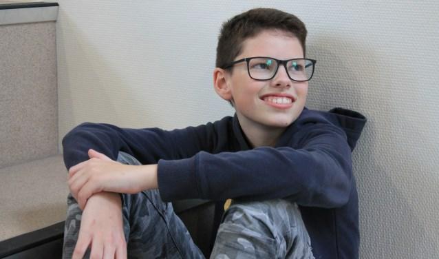 De 14-jarige Kjell speelt de Duitse jongen Bruno, een rol die hij na de repetities goed kan loslaten. | Foto: Monica Stuurop