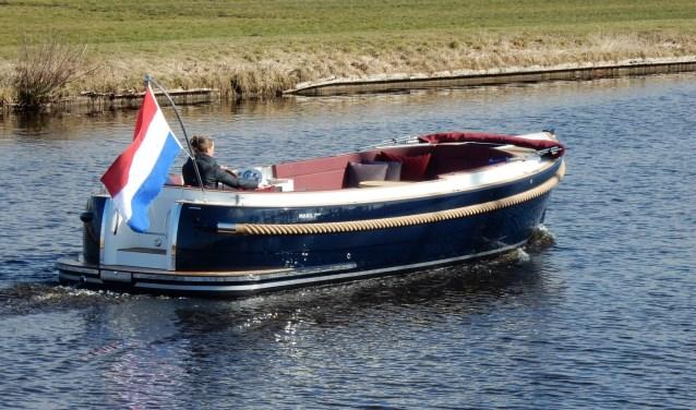 Van de Friese sloepenbouwer Maril ligt de dit jaar uitgekomen 7Nxt klaar voor een proefvaart. | Foto PR