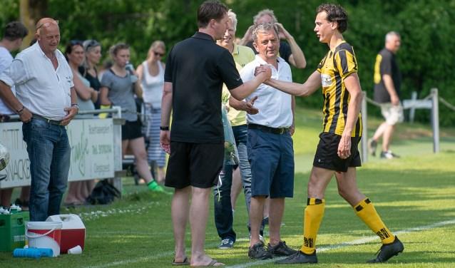 Nick Bakker kreeg, na 11 seizoenen in de selectie, een welverdiende publiekswissel. | Foto lichtenbeldfoto.nl