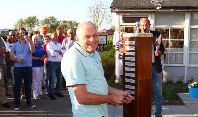 Weer een lid die zich uitzonderlijk voor WSL heeft ingespannen: Peter Meier's naam mag er bij! | Foto: Arie in 't Veld