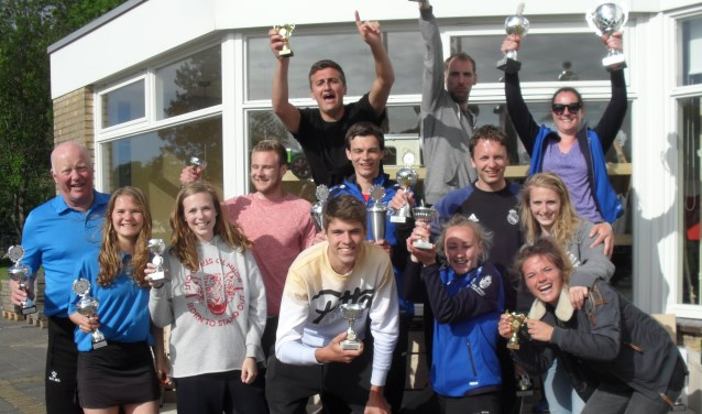 De winnaars van het Fiks-schutterstoernooi. | Foto PR