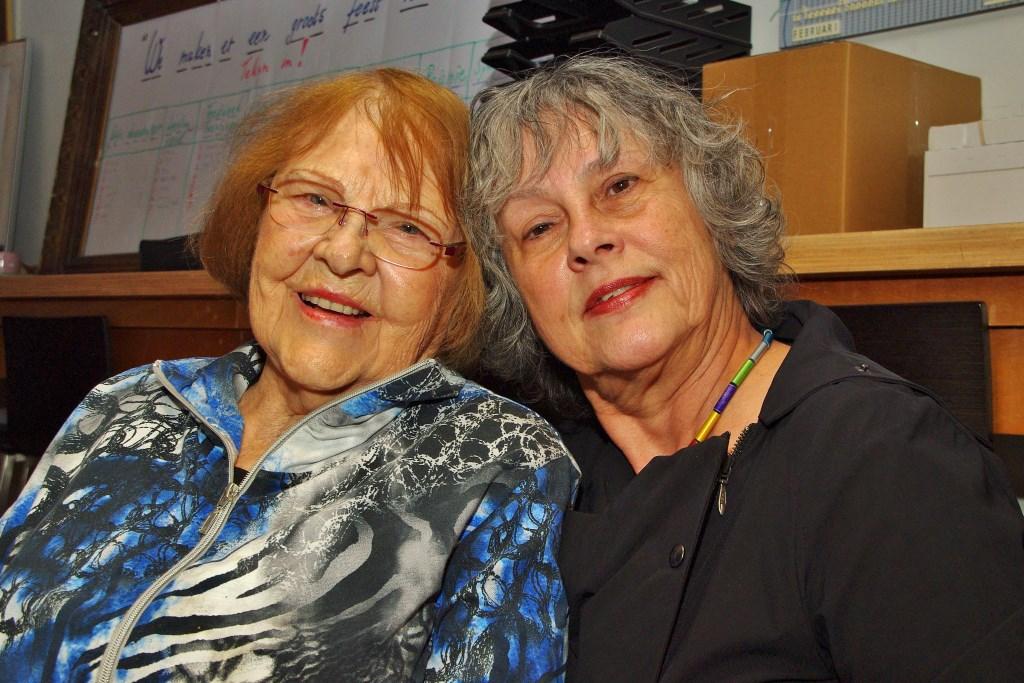Noëmi Beckman-Trpin en haar dochter Sonja.