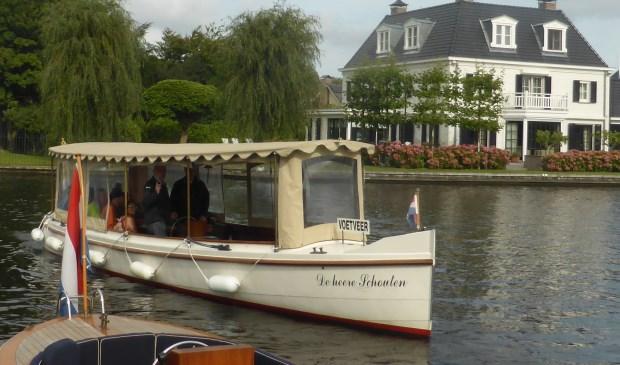 De heere Schouten, het prachtig gerestaureerde salonbootje uit 1908.