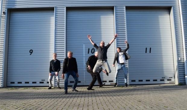 De band Van Messing is weer compleet. | Foto: Sarah Theeuwsen fotografie