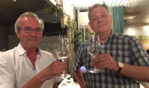 MarcelWelten en Jan Willem Lubberhuizen zijn de dinsdagkampioenen.   Foto: pr.