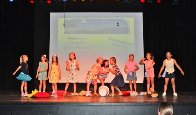 Vertederende dansen van enthousiaste kinderen. | Foto PR