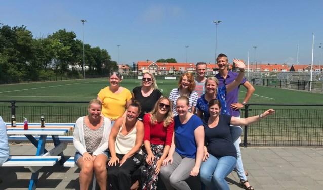 De dames van MSV Handbal pakten zondag het kampioenschap. | Foto: PR