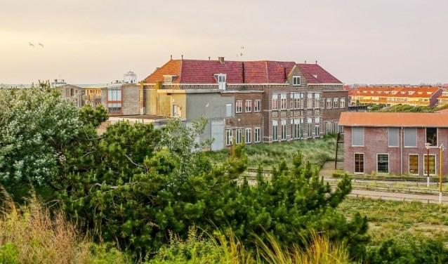 Het oude hoofdgebouw van het Zeehospitium.