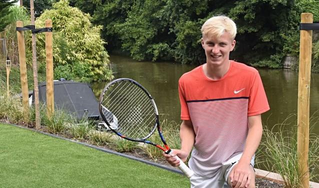 Matthijs van Starkenburg is recreatief bezig met zijn sport.