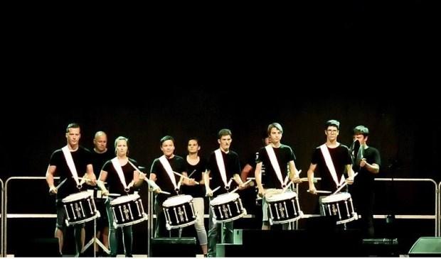 De trommelaars van Tamarco Foto: Johan Kranenburg © uitgeverij Verhagen